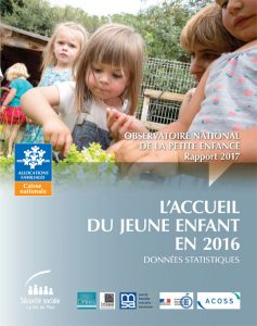 Le rapport annuel de l'Onape rassemble les données statistiques sur l'accueil des enfants de 0 à 6 ans.